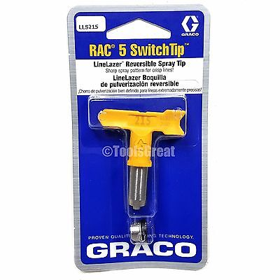 Graco Rac 5 SwitchTip  LineLazer Paint Spray Tip LL5215