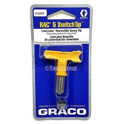 Graco Rac 5 SwitchTip  LineLazer Paint Spray Tip LL5219