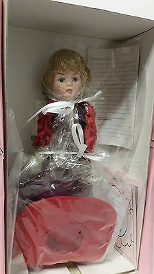 Beautiful Madame Alexander If The Hat Fits, Wear It  Porcelain Doll New