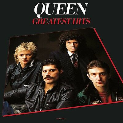 Queen - Greatest Hits (6.3oz 2LP Vinyl, Gatefold, half Speed Mastered + MP3) New