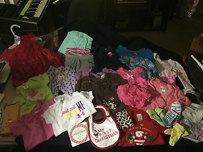 25 Pc Wholesale Baby Girl All Sizes Huge Clothing Lot Resale Inventory Startup