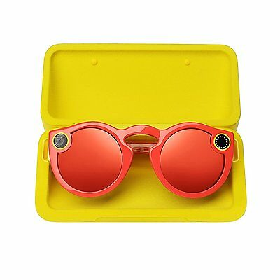 Spectacles by Snap Inc Coral Snapchat Smart Sunglasses