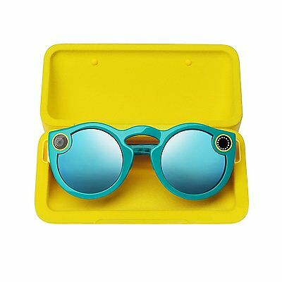 Spectacles by Snap Inc Teal Snapchat Smart Sunglasses