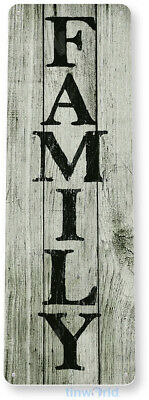TIN SIGN B817 Family Cottage Farm Beach House Rustic Metal Decor