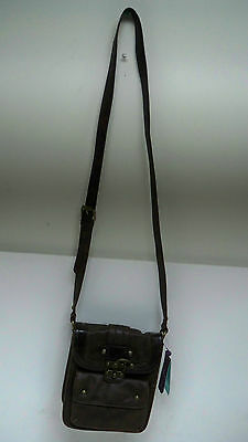 Nica London Women's Handbag Brown Leather New !!!!