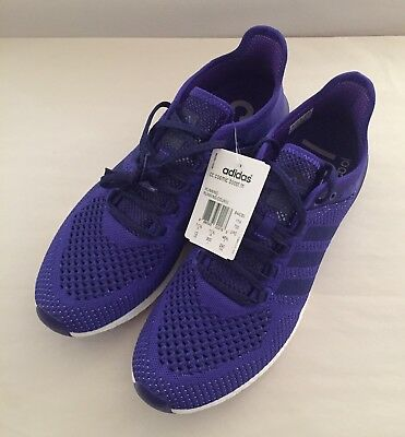 ADIDAS CLIMACHILL COSMIC Boost Men's Running Shoes Size 12 New Purple