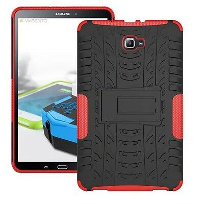 Hybrid Outdoor Protective Case Red for Samsung Galaxy Tab A 10.1 T580 T585 Cover