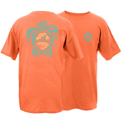Peace Frogs Adult Sea Turtle Frog Garment Dye Short Sleeve T-shirt