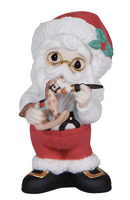Santa Precious Moments Share the gift  Made with Love  Christmas  Ornament  NIB