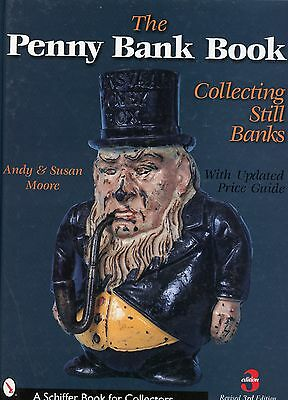 Antique Still Penny Banks - Types Makers Values / In-Depth Illustrated Book