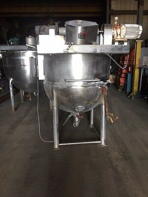 Lee Industries 200 Gallon Jacketed Kettle Stainless Steel