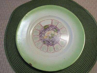 Antique Plate K.T.& K. Ramona Advertising Pickering's of Pittsburgh Dated 1910