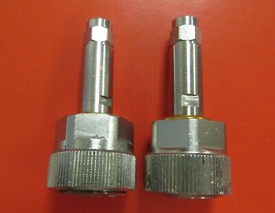 APC-7 to SMA Male RF Coaxial Connector Adapter, Qty.2