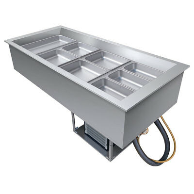 Hatco CWB-5-QS Drop-In Refrigerated Well w/ (5) Pan Size Top Mount
