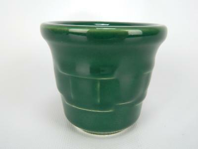 Longaberger Woven Traditions Ivy Green Mini Crock Votive Candle Holder