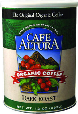 Dark Roast Ground Coffee, Cafe Altura, 12 oz Regular
