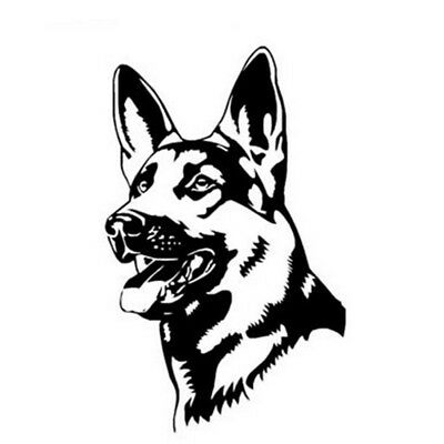 Hot GERMAN SHEPHERD DOG Animal Car Stickers Fashion Classic Personality BDAU