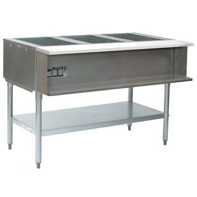 "Eagle Group AWT4-NG-1X 4-well water bath Steam Table 63-1/2"" Natural Gas"