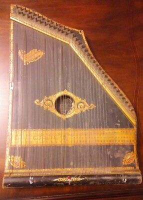 Antique 1894 COLUMBIA ZITHER #4 SPECIAL Rare piece