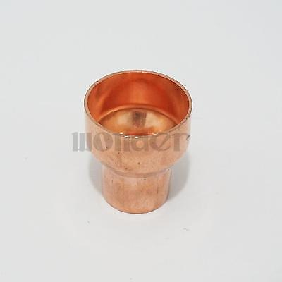 22x10mm Copper End Feed Reducer Coupling Pipe Fitting for gas water oil