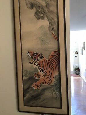 Chinese Painting Ink On Silk