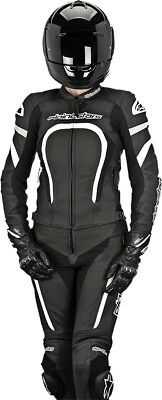 Alpinestars Stella Motegi Two-Piece Leather Womens Motorcycle Suit