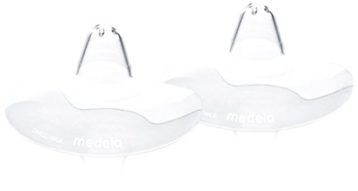 New Medela 16 mm Contact Nipple Shields with Case (Small) Free Shipping