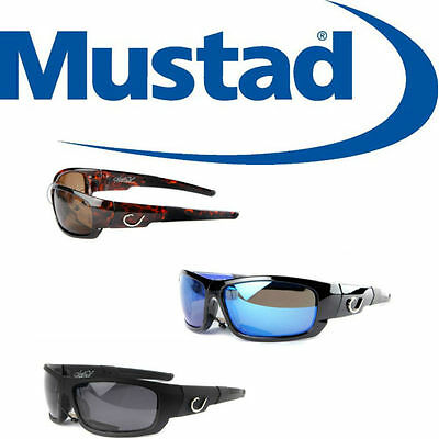 Mustad Polarized / Polarised Fishing Sunglasses by Hank Parker MHP 101