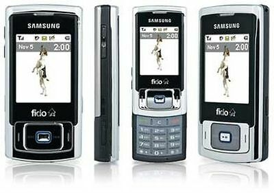 Unlocked Samsung Sgh-F266 Slider Mobile Cell Phone Mobile Gsm Fido Rogers Chatr