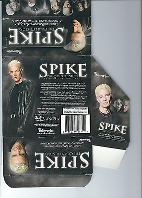 Spike The Complete Stoty - Buffy EMPTY CARD BOX - NO PACKS - SHIPPED FLAT