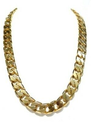 9ct Carat Gold  thick chain Necklace 89g