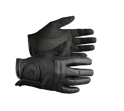 Horze Elisabeth Synthetic Leather Gloves - Horse Riding Gloves
