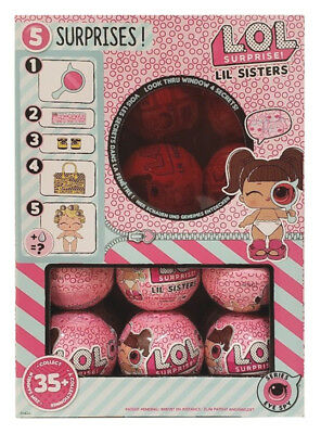 SERIES 4 Eye Spy LIL SISTERS Full Box Case of 24 BALLS - LOL SURPRISE! UNTOUCHED
