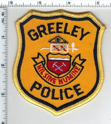 Greeley Police (Colorado) - Shoulder Patch - new from the 1980's