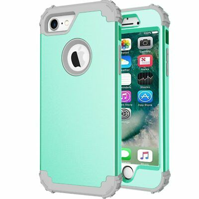 Apple iPhone 7 Plus Phone Case For Girls Hybrid Shockproof Armor Impact Cover