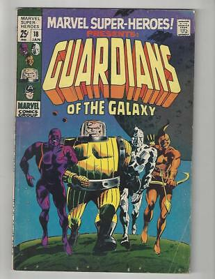 Marvel Super Heroes #18/1st Yondu/1st Guardians of the Galaxy/VG+