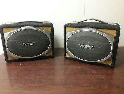 pioneer ts 6907 6x9 old school vintage car speakers rare. Black Bedroom Furniture Sets. Home Design Ideas