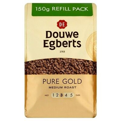 Douwe Egberts Pure Gold Medium Roast Coffee (150g). Delivery is Free