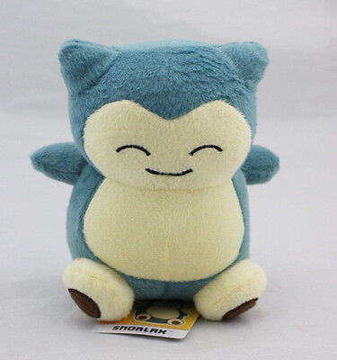 "POKEMON Snorlax Plush plushie Stuffed Doll Toy Figure Collectible 6"" Gift New"