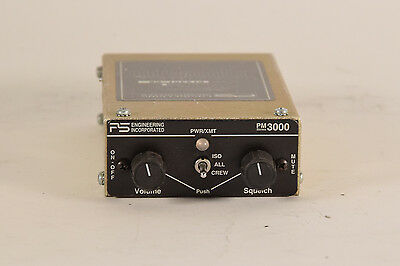 PS Engineering PM-3000 6-Place Intercom PN: 11932, Guaranteed
