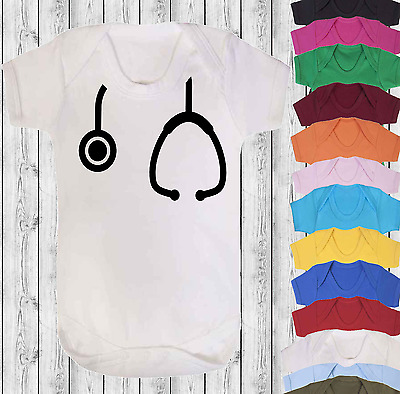 0b2d0ba8c3346 STETHOSCOPE BABY ROMPER, Funny Baby Gift, New Baby Clothes, Baby ...