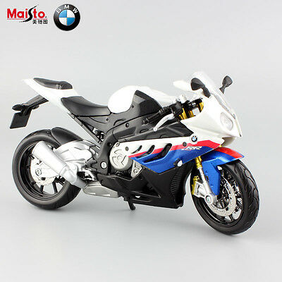 1:12 scale maisto BMW S1000RR metal diecast model motorcycle racing sport toys