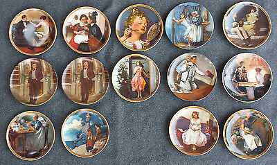Gone With The Wind Collectors Plates, LOT of 14, New Original Boxes