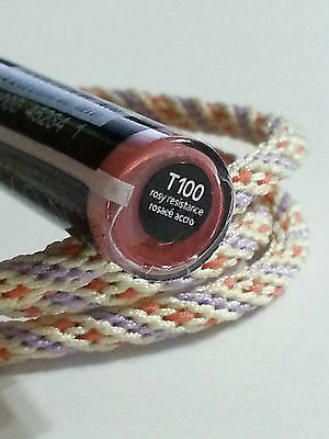 Avon Perfect Wear Plump & Stay Lip Colour Base & Top Coat Rosy Resistance