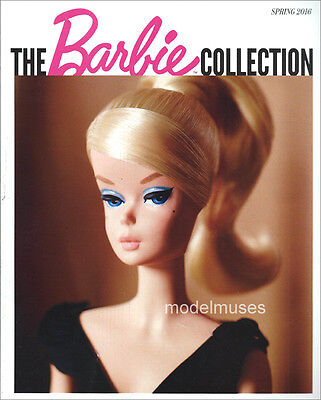 THE BARBIE COLLECTION Children's Doll CATALOG Spring 2016 - OUT OF PRINT!