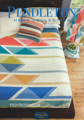 PENDLETON Home Collection CATALOG April 2017 Bedding Pillows Rugs Blankets more!
