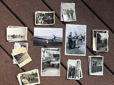 Lot of VTG WW2 WWII Photos c. 1940's - Planes, Aircraft, and Soldiers (L4-G8) • $16.59