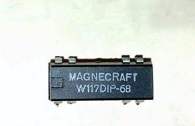 Relay,  Magnecraft reed relay W117DIP-68 5-Volt coil with 1 form A contact