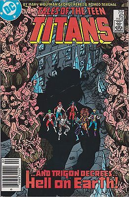 Tales Of The Teen Titans #62 Dc 1986
