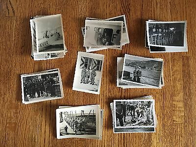 Lot of VTG WW2 WWII Photos c. 1940's - Planes, Aircraft, and Soldiers (L6-G3)